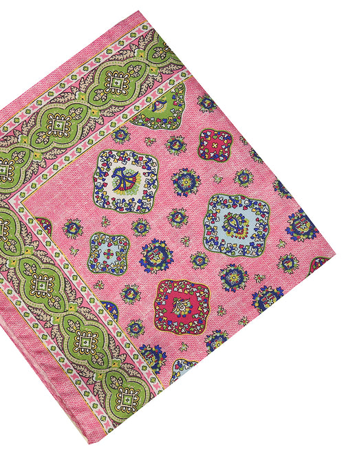 DÉCLIC Cad Pocket Square - Pink