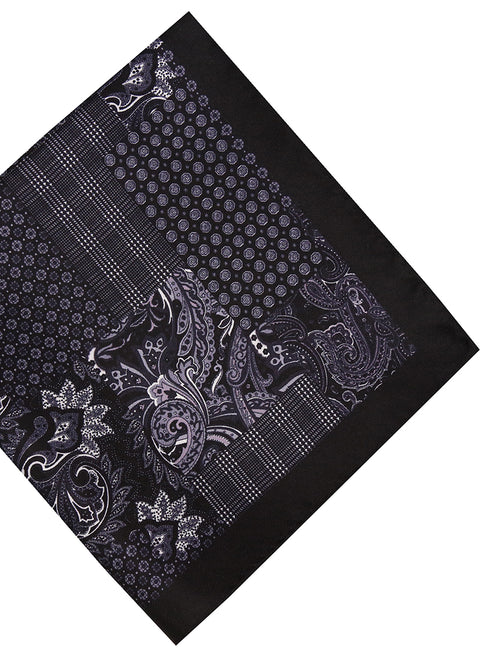 DÉCLIC Cadrer Pocket Square - Black