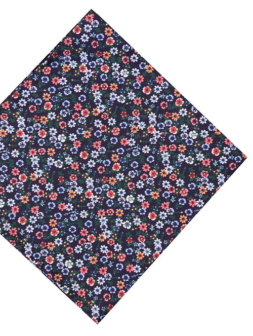DÉCLIC Bande Floral Hanky - Assorted/Navy
