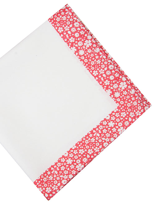 DÉCLIC Piccolo Floral Hanky - Red