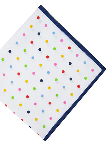 DÉCLIC Procida Floral Hanky - Blue/Assorted