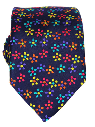 DÉCLIC Lora Floral Tie - Purple