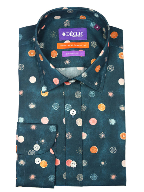 DÉCLIC Dian Spot Print Shirt - Assorted