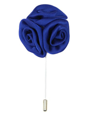 DÉCLIC Rose Cluster Lapel Pin - Royal