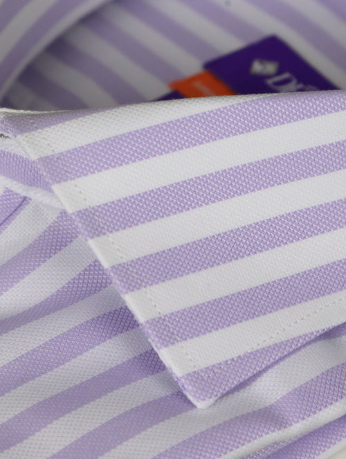 DÉCLIC Hall Oxford Stripe Shirt - Lavender