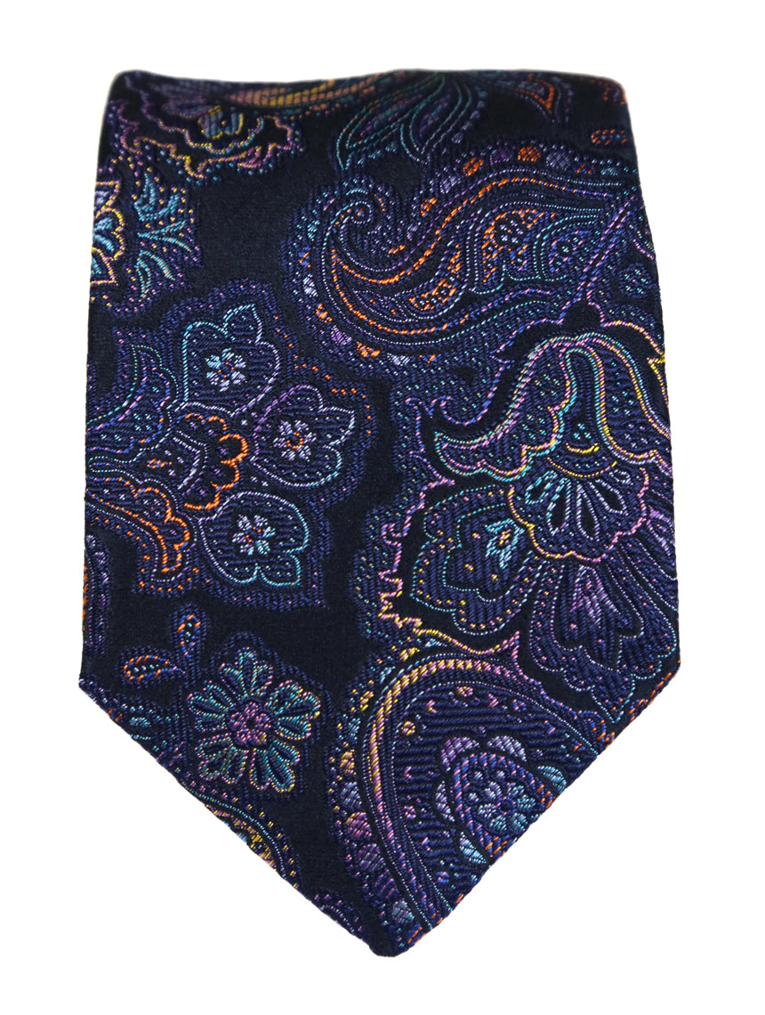 DÉCLIC Festival Paisley Tie - Assorted/Navy