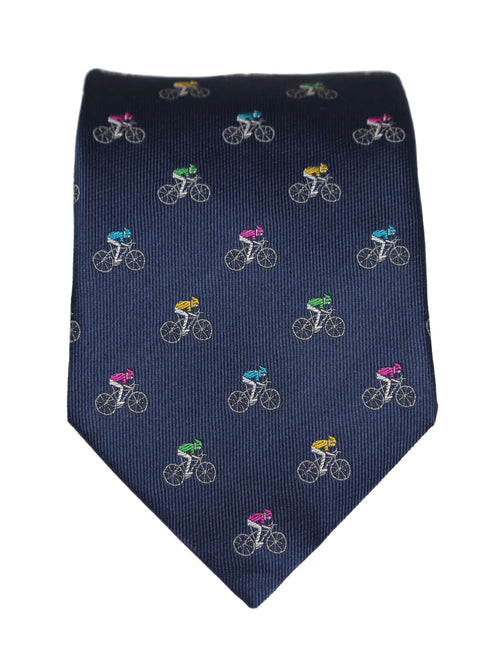 DÉCLIC Touring Theme Tie - Navy