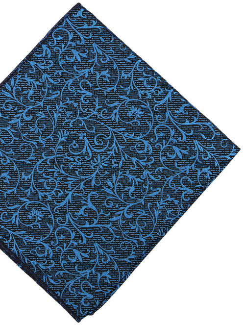 DÉCLIC Tendril Floral Hanky - Blue