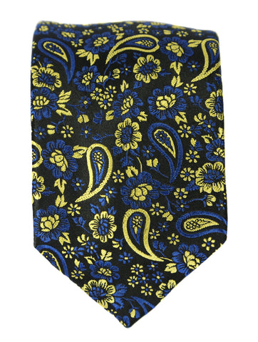 DÉCLIC Festival Paisley Tie - Orange/Black