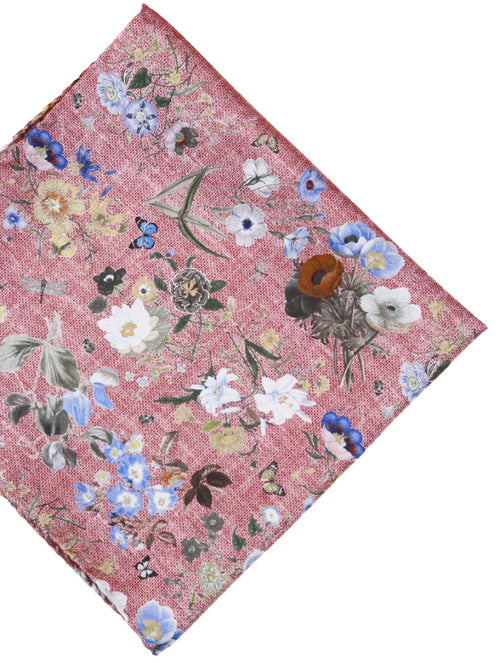 DÉCLIC Perimore Floral Hanky - Pink