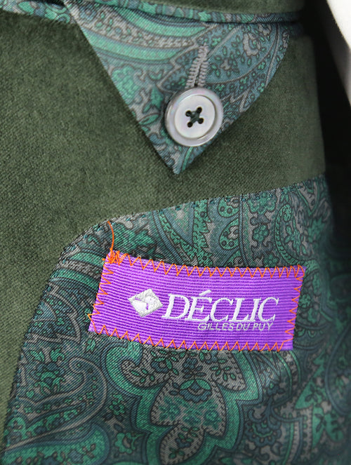 DÉCLIC 'Regal' Velvet Jacket - Olive