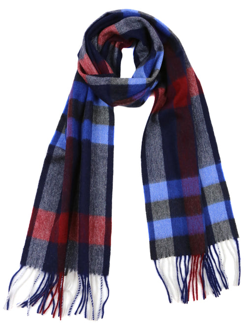 DÉCLIC Birger Check Scarf - Red