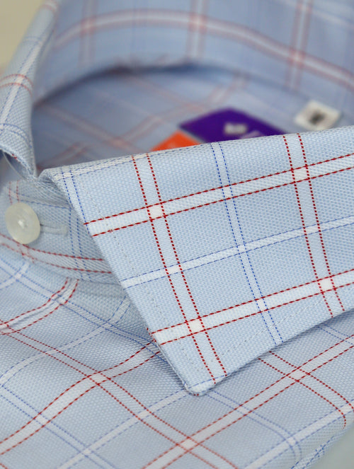 DÉCLIC Cassino Check Shirt - Blue