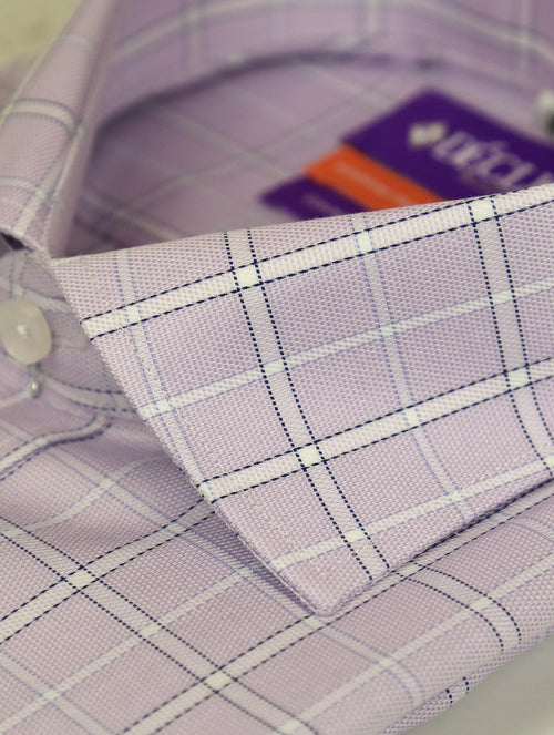 DÉCLIC Cassino Check Shirt - Lavender