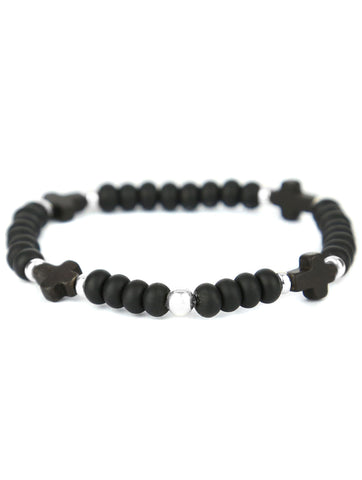 Tateossian Alutex Clasp Bracelet - Brown