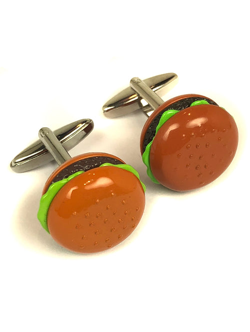 DÉCLIC Hamburger Cufflink