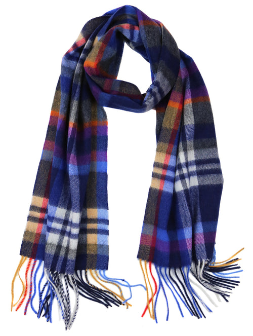 DÉCLIC Harald Check Scarf - Purple