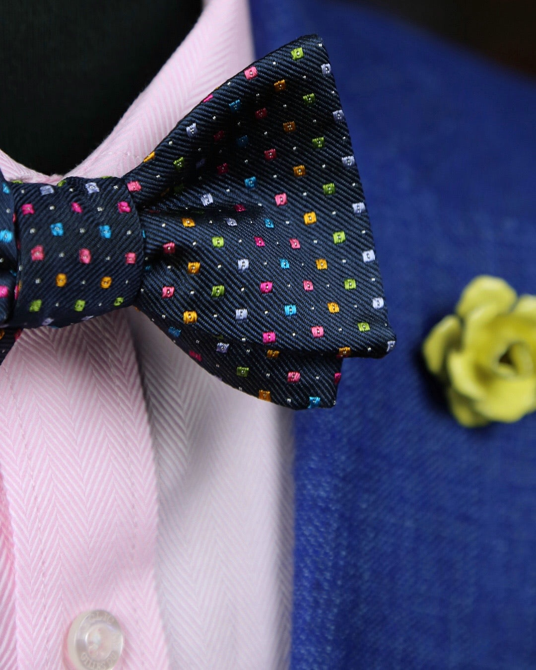 DÉCLIC Axis Bow Tie - Navy