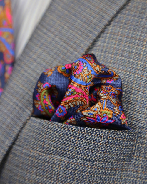 DÉCLIC Ludlow Paisley Hanky - Assorted