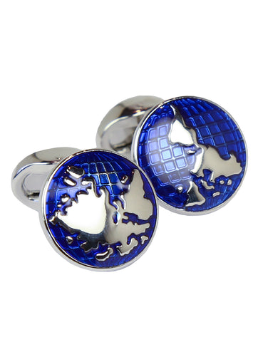 DÉCLIC World Globe Cufflink