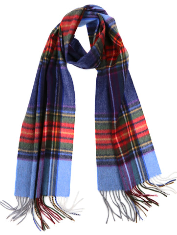 DÉCLIC Erik Check Scarf - Blue