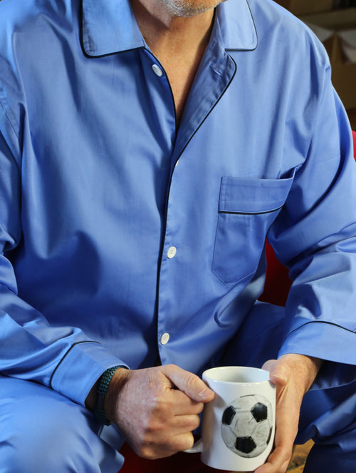 DÉCLIC Oscar Plain Pyjamas - Blue