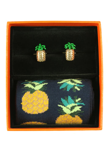 DÉCLIC Music Sock/Cufflink Box Set
