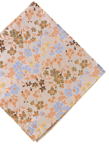 DÉCLIC Bloom Floral Hanky - Aqua