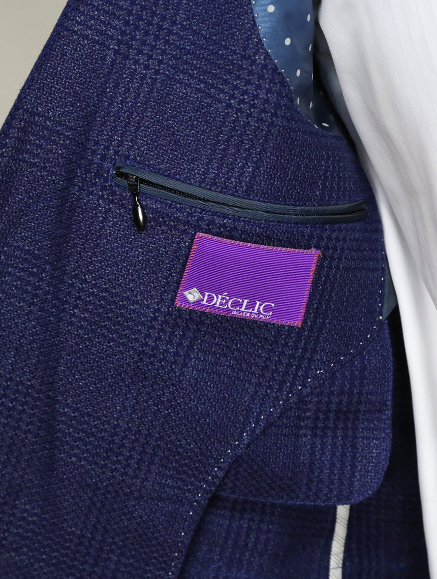 DÉCLIC Visari Check Jacket - Blue