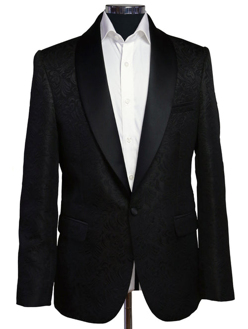 DÉCLIC Zane Brocade Jacket - Black