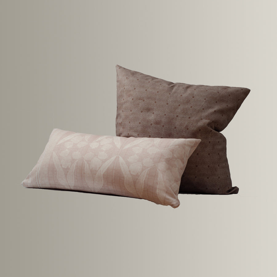 Jude Cushion Cover in Blush