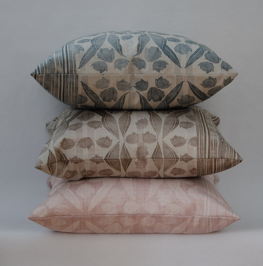 Annie Cushion Cover in Blush