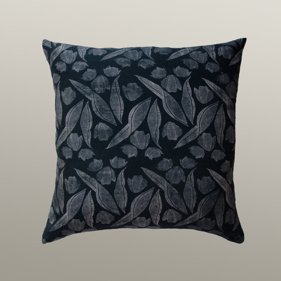 Annie Pillow Cover in Hale Navy
