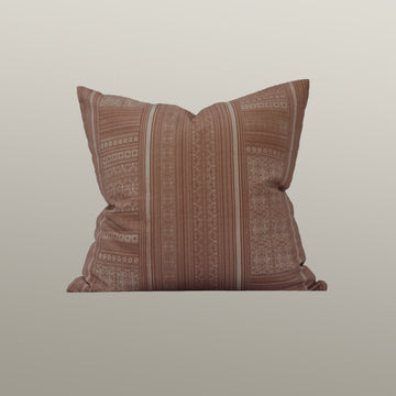 Harlowe Cushion Cover in Terra Cotta