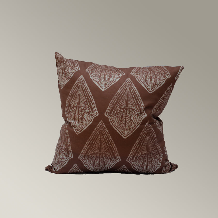 Maya Cushion Cover in Rose-Red