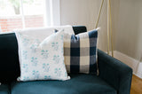 Claiborne Plaid Cushion Cover