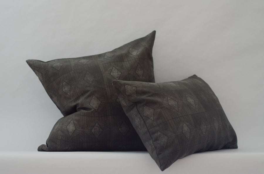 Jett Cushion Cover in Antique Bronze