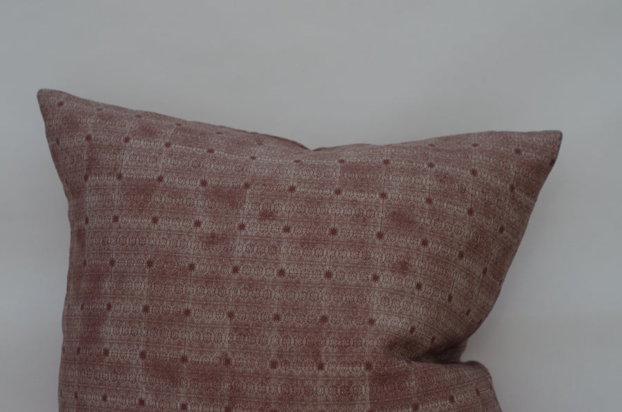 Jude Pillow Cover in Blush