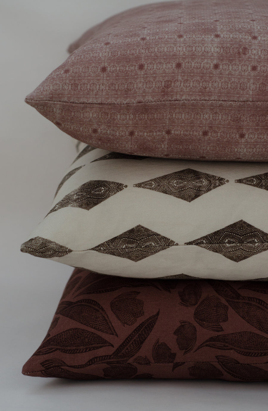 Milla Pillow Cover in Dove Tail