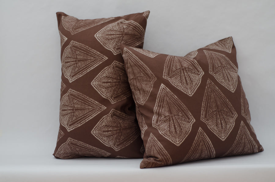 Maya Cushion Cover in Russet