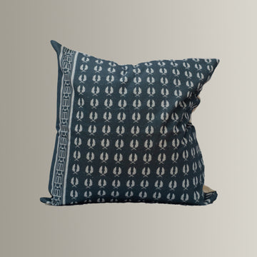 Roger in Blue Cushion Cover