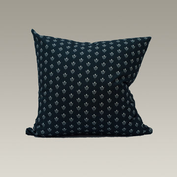 Ruby Cushion Cover in Midnight
