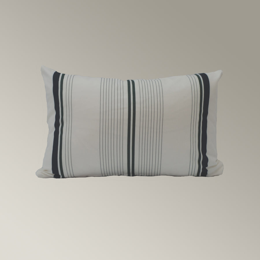 Casual Stripe Pillow Cover