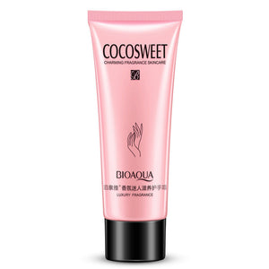 BIOAQUA COCO SWEET Hand Cream Moisture Nourishing Anti Chapping Oil Control Winter Hand Care Lotion 80g