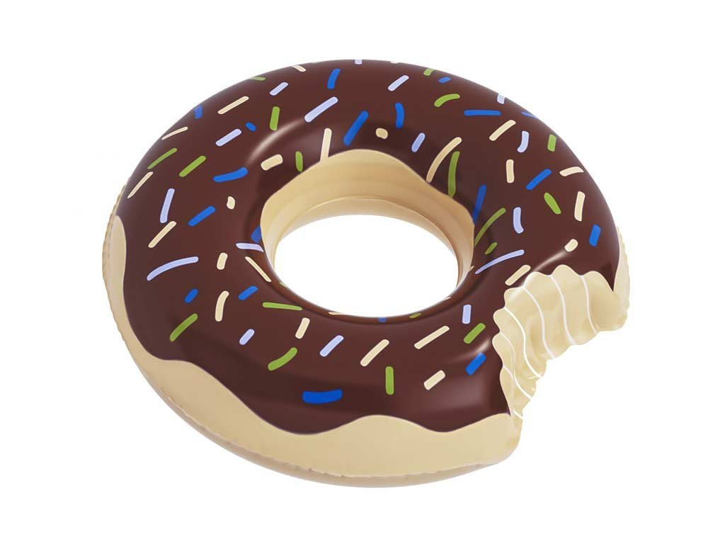 Donut - Chocolate - Floatie Kings