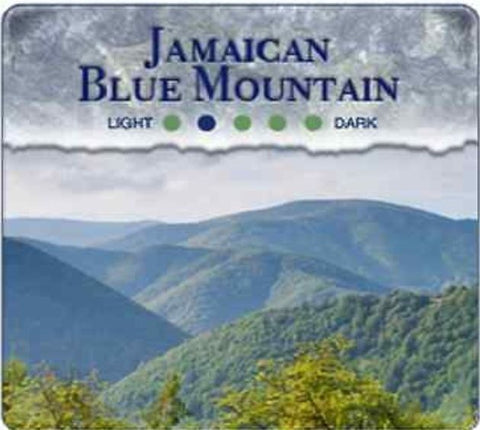 Jamaica Blue Mountain GOURMETCoffee Blend -Freshly Roasted - 1/2 lb