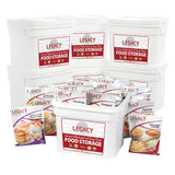 Legacy Premium Long Term Emergency Food Storage 720 Serving Bucket 3 Months FS0720