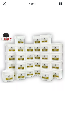 Legacy Premium Emergency Food Family One Year Supply Package FS4320