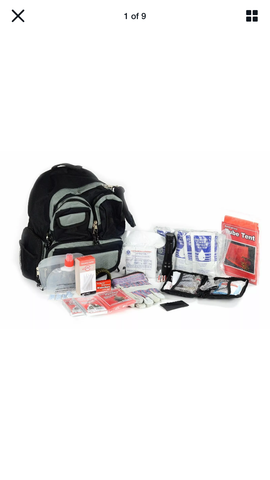 Legacy Premium Survival 2-Person Emergency Basic Bug Out Bag Kit
