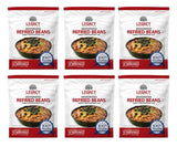 Legacy's Premium Emergency Food Storage Essentials Dehydrated Refried Beans 6 Pack LE6022